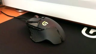 Unboxing mouse Logitech G502 ITA [By JusTAlex]