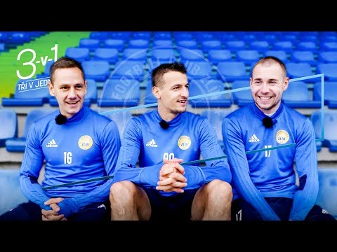 Zlín 3v1: Standa Dostál s penaltovými experty Robem Matejovem a Vukadinem Vukadinovičem