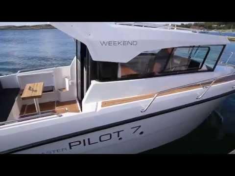Finnmaster Pilot 7 Weekend minmotorbaad.dk testing 2015