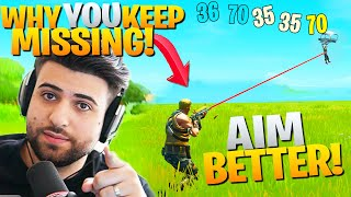 The REAL Reason You Keep MISSING Easy Shots! (Fix It!) - Fortnite Educational Commentary