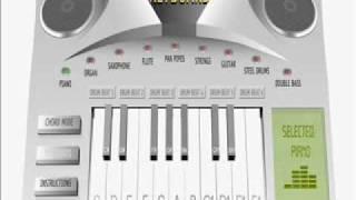 Virtual Keyboard : Clocks by Coldplay