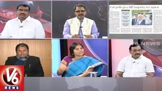 Special Debate On Gujarat Exit Polls | Good Morning Telangana