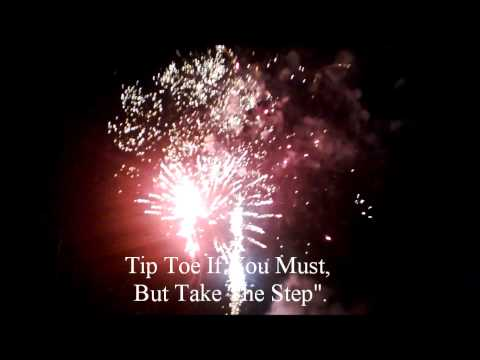 Beautiful Quotes With Music And Fireworks
