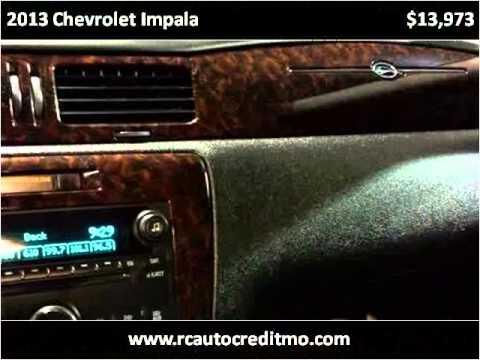 2013 Chevrolet Impala Used Cars Kansas City MO