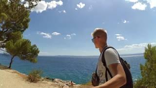 Autostop Chorwacja Czarnogóra Wakacje | Hitchhiking Croatia Montenegro Summer 2016 (Xiaomi yi)