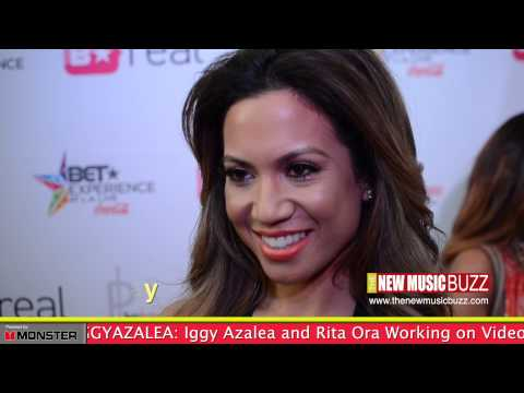 Jessi Malay At The Bet Experience video