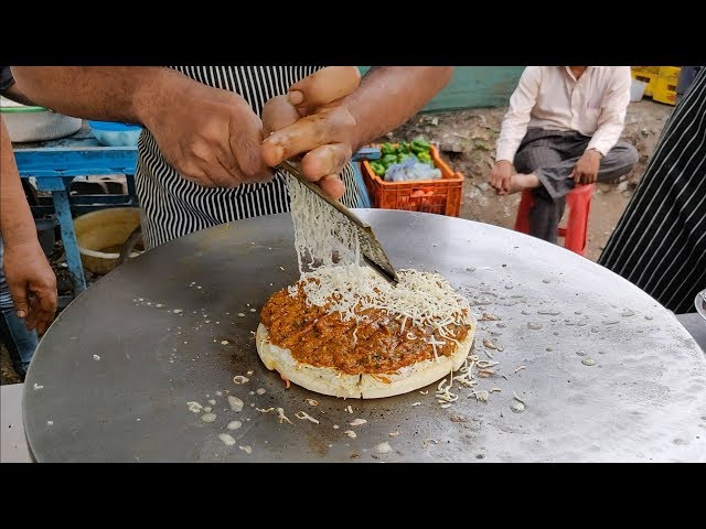 Roadside Egg Pizza  Anda Wala Pizza  Indian Street Food