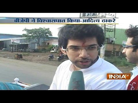 Exclusive: Shiv Senas Star Campaigner Aditya Thackeray Speaks...