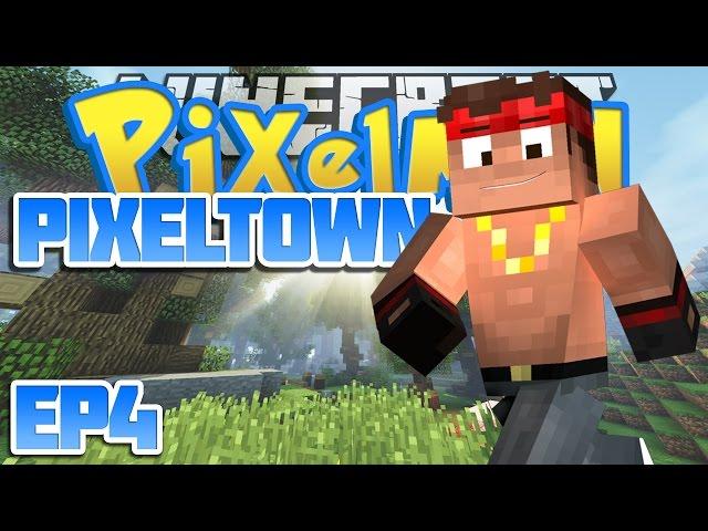 Minecraft Pixelmon | PixelTown Ep 4 | Rockin' Forest (Pixelmon)