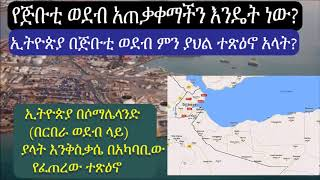Ethiopia How Ethiopia use port of Djibouti? and what is the influence?