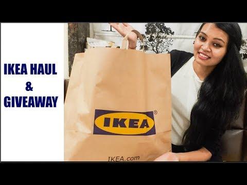 IKEA HAUL & GIVEAWAY || IKEA INDIA || Sameeksha Dugar