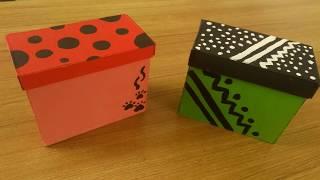 DIY Gift Box /How to make box / DIY Valentine's Day  Box / Box Tutorial