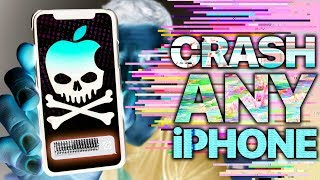 This Text Will CRASH ANY iPhone Instantly!
