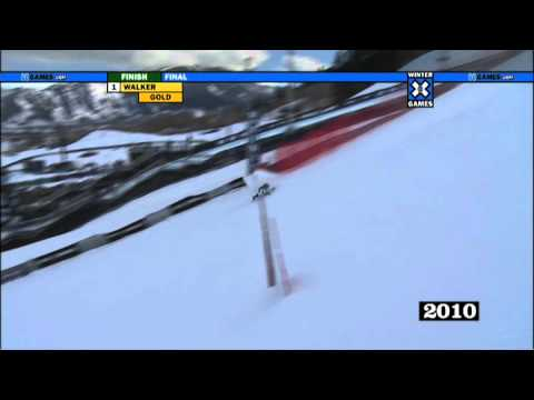 Tyler Walker wins Mono Skier X at Winter X Games 14