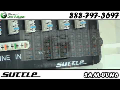 Suttle SE-SAM-VVH6 10/6 Voice and Video Module