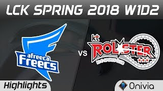 AFS vs KT Highlights Game 3 LCK Spring 2018 W1D2 Afreeca Freecs vs KT Rolster by Onivia