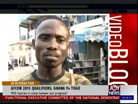 AFCON 2015 Qualifiers Ghana vs Togo - Joy News Interactive (18-11-14)