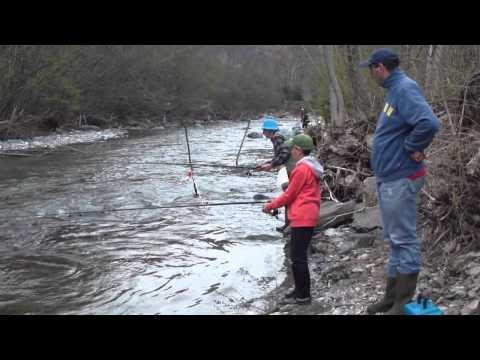 Raduno di pesca Michelin Sport Club filmato in HDV