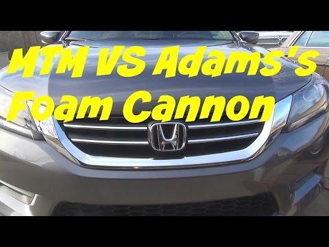 MTM Foam cannon vs Adam's Foam Cannon
