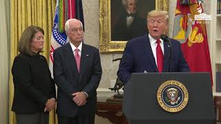 President Trump Presents the Presidential Medal of Freedom to Roger Penske