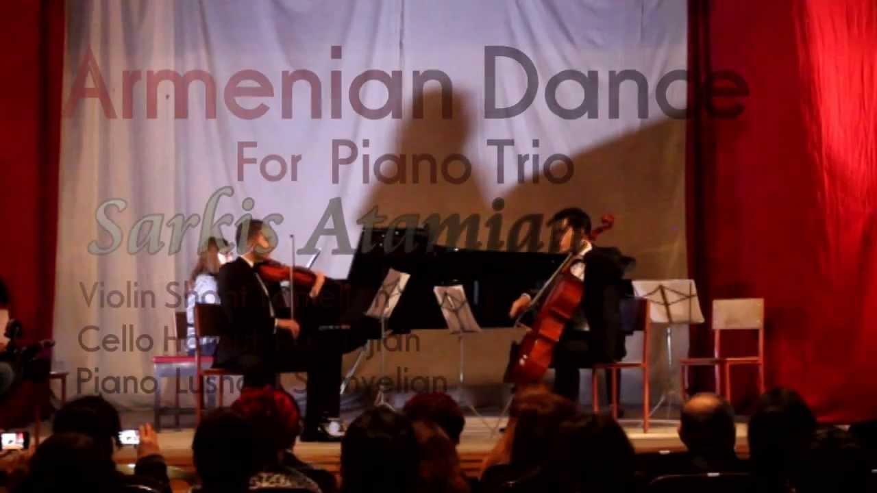 Armenian dance piano trio sarkis atamian youtube for Piano dance music 90 s