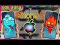 ПРИКЛЮЧЕНИЯ ОГОНЬ и ВОДА в Хрустальном  храме #2. Развлекательное видео для детей. Подарок iPhone 8