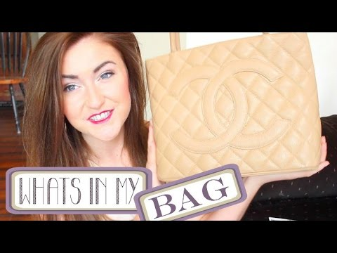 What's In My Bag?! ❤ Chanel Medallion Tote ❤ September 2014