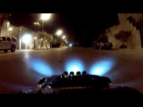 MCD Rally X4 Drifting W/Lights On-board GOPRO HD Hero2