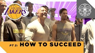 download musica How to Succeed: The Rock's Q&A with the Los Angeles Lakers - Part 2