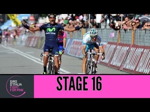 Giro d'Italia 2013 Tappa / Stage 16 Official Highlights