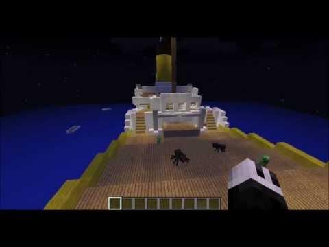 Minecraft - Titanic Sinking!