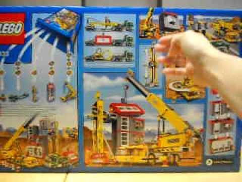 Lego City Crane 7633 Legacek cz Lego 7633 City