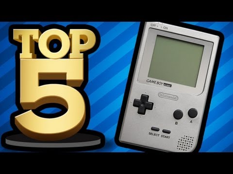 PLAYING WITH MY HANDHELD (Top 5 Friday)