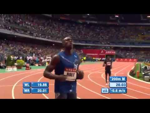Usain Bolt 200m-20.03 Diamond League Paris 2011 www MIR LA comwww MIR LA com
