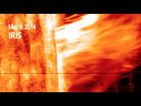 NASA | A First for IRIS: Observing a Gigantic Solar Eruption
