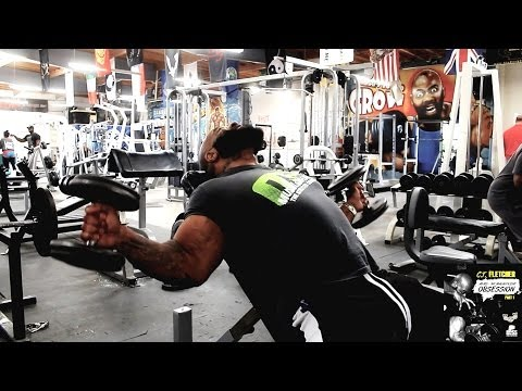 "CT Fletcher Demonstrates T-Curls, a Bicep Exercise From ""Arms My Magnificent Obsession"" EBook"