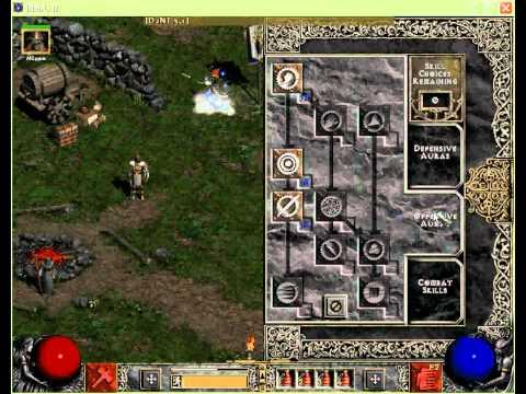 Diablo  Lord Of Destruction Hammerdin Build