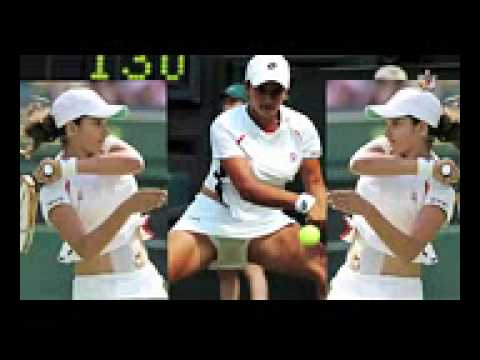 Sania Mirza Nipple Clear Show video