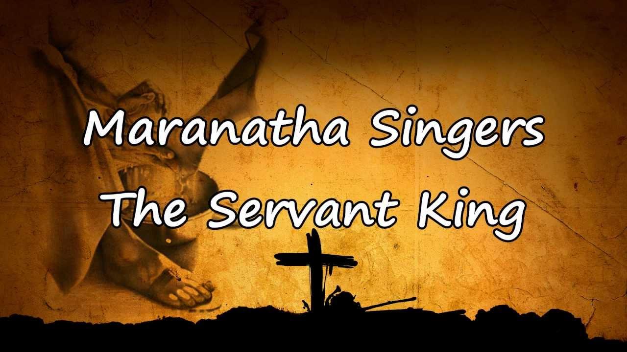 Make Me A Servant - Maranatha Singers Sheet Music ...