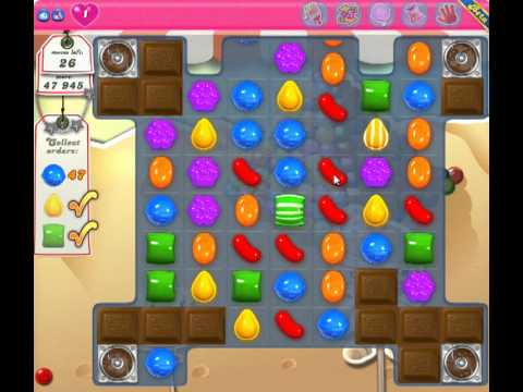 Candy Crush Saga Level 165 - 2 Star - no boosters