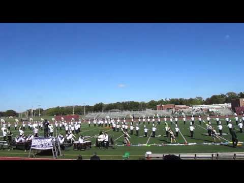 Tottenville High School Marching Band - Into the New World - 10/5/14 - Tournament of Bands