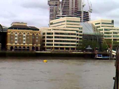 River Thames,London.UK July 2010.