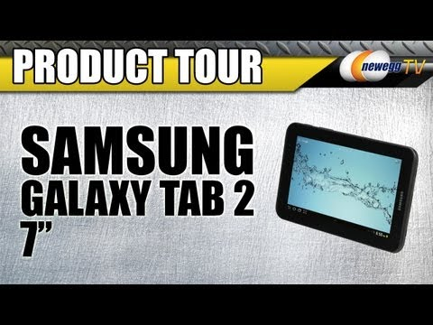 Newegg TV: SAMSUNG Galaxy Tab 2 WiFi 7-inch Tablet PC Titanium Silver Product Tour