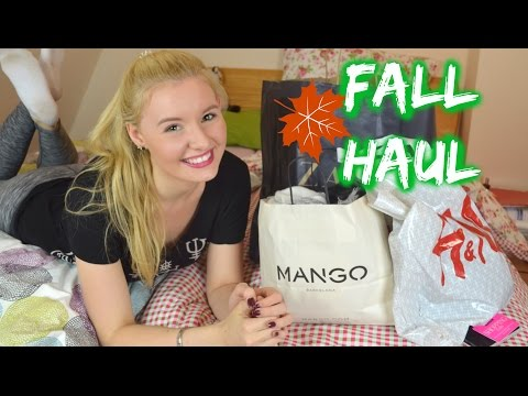 FALL FASHION HAUL!  H&M Mango Zara - Glamour Shopping Week