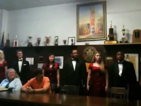 Topeka High School Madrigals sing Fum, Fum, Fum - December 2012.MOV