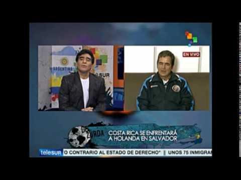 Entrevista Diego Maradona a Jorge Luis Pinto