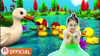 Liên Khúc Nhạc Thiếu Nhi Sôi Động - Một Con Vịt - Cá Vàng Bơi Trong Bể Nước