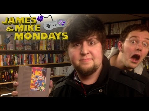 Bomberman II (NES Video Game) with JonTron - James & Mike Mondays