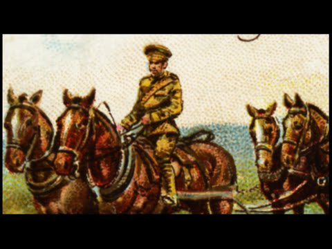 WW1 In Color - Cavalry Charge - Horse Massacre