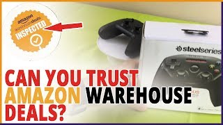 Steelseries Nimbus Review - Amazon Warehouse Sent Me A Broken iPhone Video Game Controller!